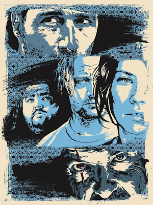 LOST Screen Print 'The End' by Joshua Budich