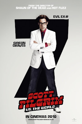 Scott Pilgrim vs. The World - Jason Schwartzman as Evil Ex #7 - Gideon Graves