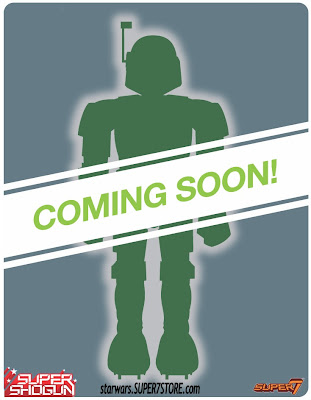 Star Wars x Super7 Boba Fett Super Shogun Teaser Image