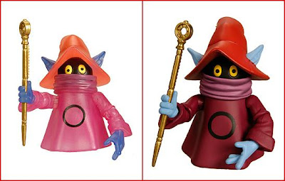 San Diego Comic-Con 2010 Exclusive Masters of the Universe Orko with Color Change Feature and Standard Version Orko without Color Change Feature Action Figures