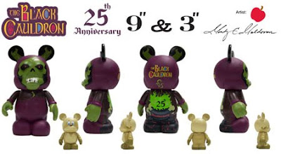 The Black Cauldron Disney Vinylmation Set - 9 Inch Horned King & 3 Inch Gurgi Vinyl Figures