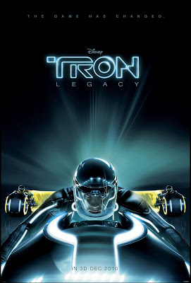 TRON Legacy Theatrical One Sheet Movie Poster