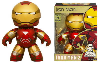 SDCC 2010 Exclusive Iron Man Mark VI Mighty Mugg with Flip-Up Visor
