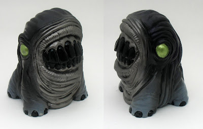 San Diego Comic-Con 2010 Exclusive Hematite Treature Resin Figure by Motorbot