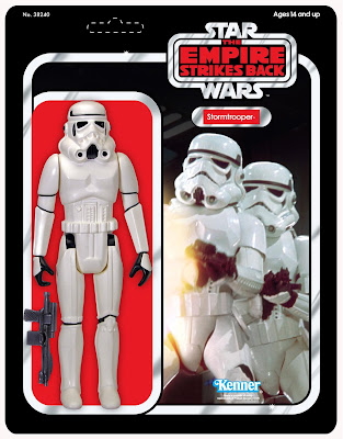 San Diego Comic-Con 2010 Exclusive 12 Inch Jumbo Vintage Kenner Star Wars Stormtrooper Action Figure  and Blister Card Packaging by Gentle Giant