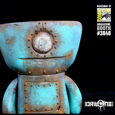 San Diego Comic-Con 2010 Exclusive Custom Ugly Doll by Drilone
