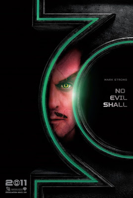 Green Lantern Teaser Character Movie Poster Set - Mark Strong as Sinestro
