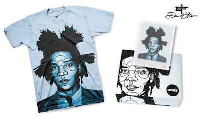 LTD Tee - Jean-Michel Basquiat T-Shirt & Art Print Box Set by David Flores