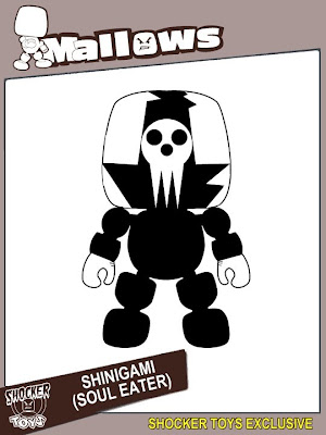 San Diego Comic-Con 2010 Exclusive Soul Eater Lord Death Mallow by Shocker Toys