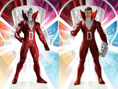 Brightest Day Series 1 Action Figures by DC Direct - White Lantern Deadman