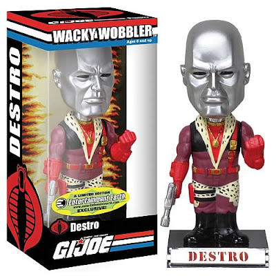 EntertainmentEarth.com Exclusive G.I. Joe Pimp Daddy Destro Bobble Head