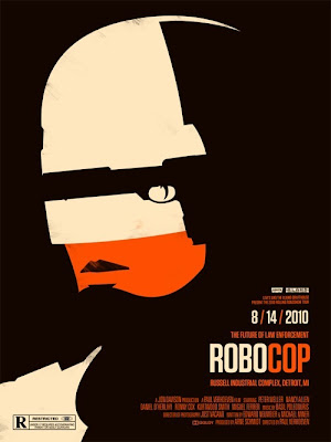 2010 Rolling Roadshow Screen Print Series - Robocop by Olly Moss