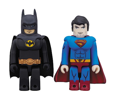 DC Comics 75th Anniversary Movie Kubrick 2 Pack - Batman &amp; Superman