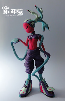 ESC Toy - Medusa Poison Berry Konstricta Vinyl Figure by Erick Scarecrow
