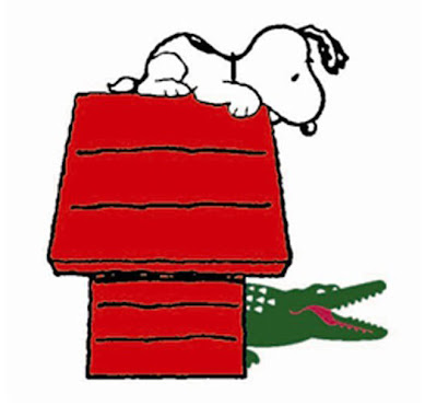 Peanuts x Lacoste Polo Collection Designs - Snoopy