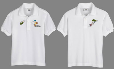Peanuts x Lacoste Polo Collection - Charlie Brown and Linus Polos