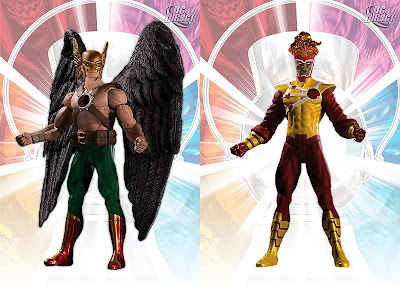Brightest Day Series 2 Action Figures by DC Direct - Hawkman and Firestorm