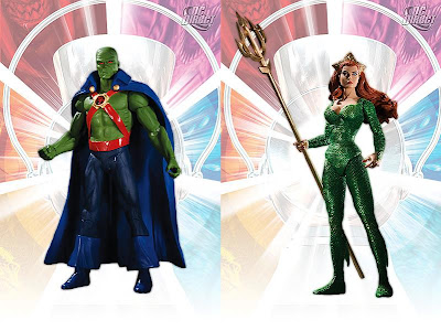 Brightest Day Series 2 Action Figures by DC Direct - Martian Manhunter and Mera