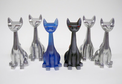 Tenacious Toys Exclusive Silver Tuttz Wave 2 Resin Figures by Argonaut Resins