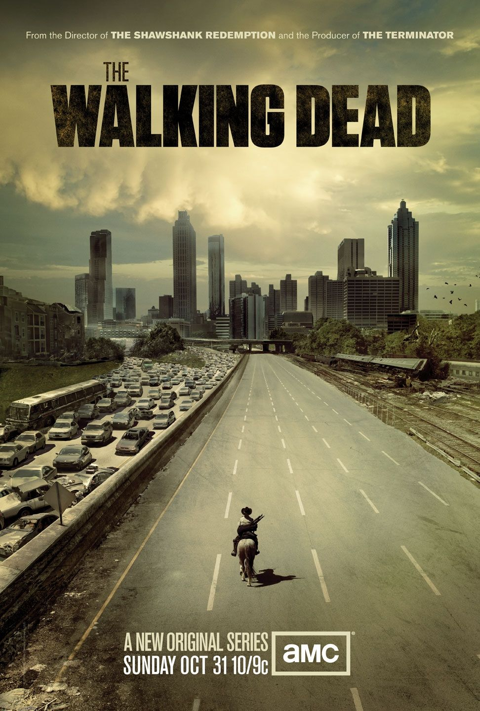 The+Walking+Dead+Season+1+One+Sheet+Television+Poster The Walking Dead 1ª Temporada Legendado RMVB + AVI