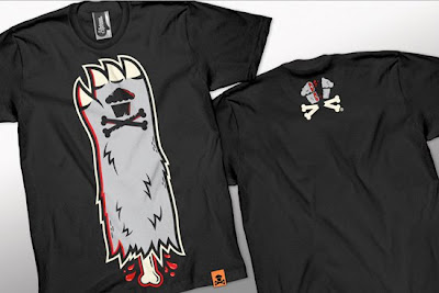Johnny Cupcakes Halloween 2010 T-Shirts - Monster Hand T-Shirt