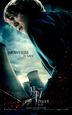 Harry Potter and the Deathly Hallows Part I Character Movie Posters - Nowhere Is Safe - Rupert Grint as Ron Weasley