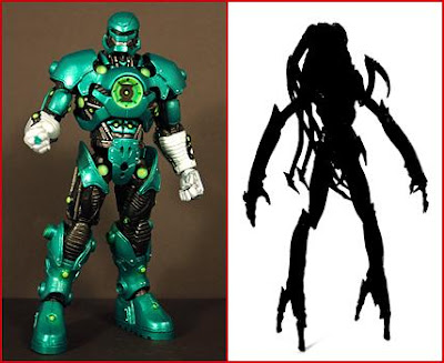 Green Lantern Classics Wave 2 Action Figures - Collect and Connect Stel & Mystery Green Lantern Movie Figure