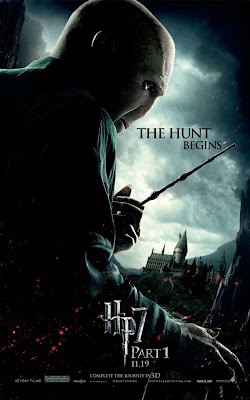 Harry Potter and the Deathly Hallows: Part I Character Movie Posters - The Hunt Begins - Ralph Fiennes as Lord Voldemort