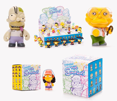 Kidrobot x The Simpsons Mini Series 2 Packaging