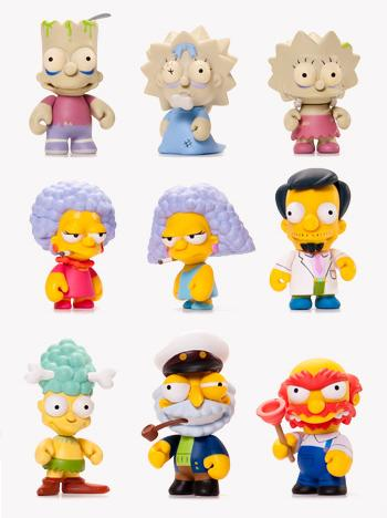 Kidrobot x The Simpsons Mini Series 2 Vinyl Figures