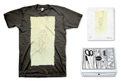 LTD Tee - Rising Up T-Shirt & Art Print Box Set by CBM