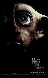 Harry Potter and the Deathly Hallows Part 1 Portrait Movie Poster Set - Dobby