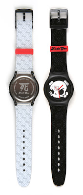 "Vannen XL Artist Watch ""Killing Time"" and Packaging by Huck Gee"