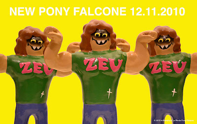 "Pony Falcone ""#1 ZEU Fan"" Resin Figure Colorway #2 by Le Merde"
