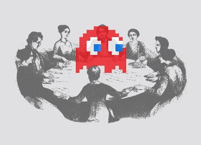 Threadless - Pac-Man T-Shirt Medium Difficulty by Stuart Colebrook