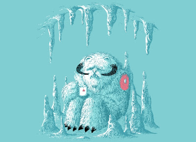 Threadless - Star Wars T-Shirt &#8220;Somewhere on the Ice Planet&#8221;