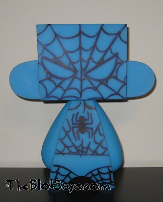 Spider-Man Doodled Glow in the Dark 10 Inch Blue Mad'l by MAD