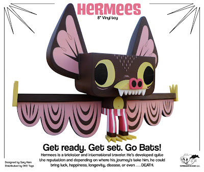 Hermees 8 Inch Vinyl Figure by Gary Ham