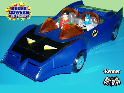 Super Powers Batmobile with Batman and Robin by Kenner