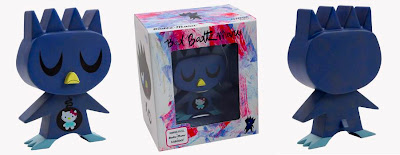 Kidrobot x Sanrio Bad Badtz Maru Vinyl Figure and Packaging by Amanda Visell
