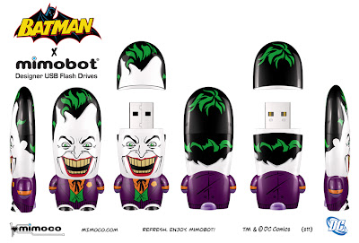 DC Comics x Mimobot The Joker Mimobot Designer USB Flash Drive
