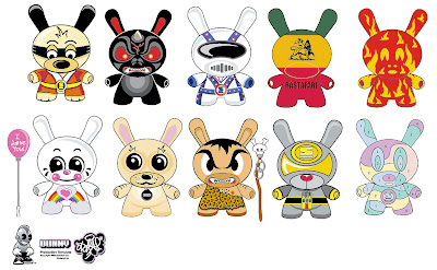 Dunny Design Submissions from 2004 by Sket-One