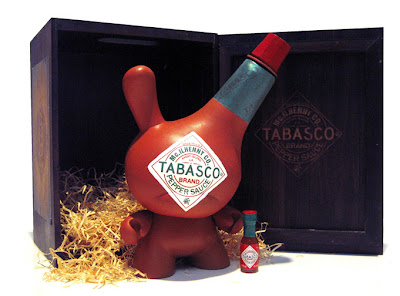 Tabasco Custom 8 Inch Dunny by Sket-One