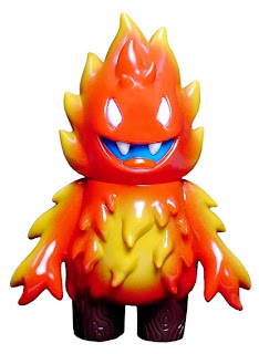 Super7 - The Flame Vinyl Figure by Leecifer