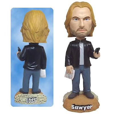 "James ""Sawyer"" Ford LOST 7 Inch Bobble Head by Bif Bang Pow"