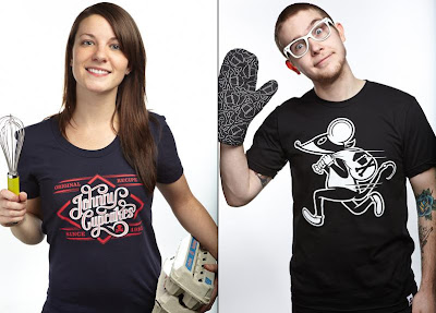 Johnny Cupcakes February 2011 Releases - Original Recipe & Cupcake Crook T-Shirts
