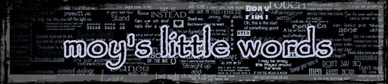 moy's little words