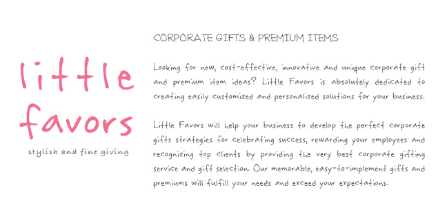 Corporate Gifts & Premium Items