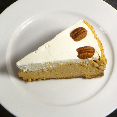 Cookistry: Bourbon Pumpkin Cheesecake