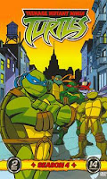 Мутанты черепашки Ниндзя 4 сезон (1990 - 1993 гг.) онлайн